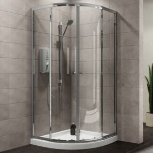 Plumbsure Quadrant Shower Enclosure with Double Plumbsure Quadrant Shower Enclosure with Double Sliding Doors (W)800mm (D)800mm.Update your bathroom with this quadrant shower enclosure from Plumbsure. The stylish double sliding doors and space savi http://www.MightGet.com/april-2017-1/plumbsure-quadrant-shower-enclosure-with-double.asp