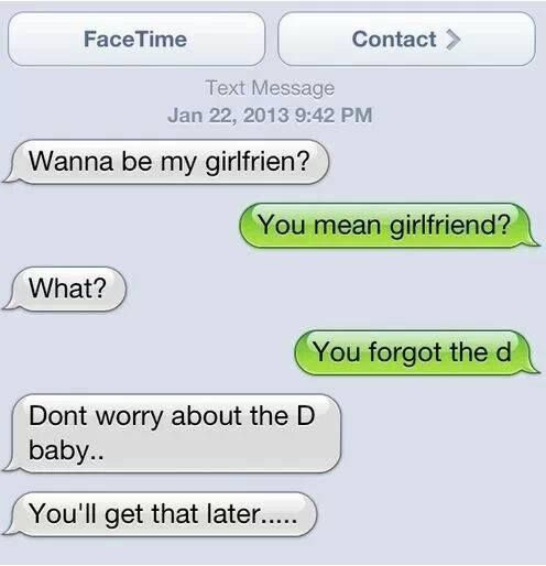 Funny Asking Out Text Messages