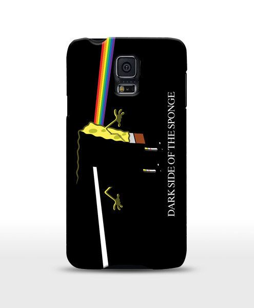 Dark Side Of the Sponge funny case pink floyd funny by store365