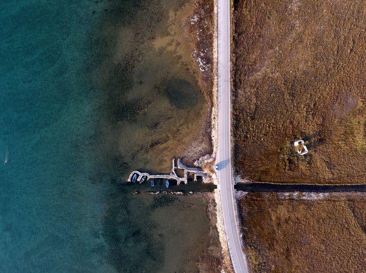 Insel Pag Kroatien beim Malo Blato