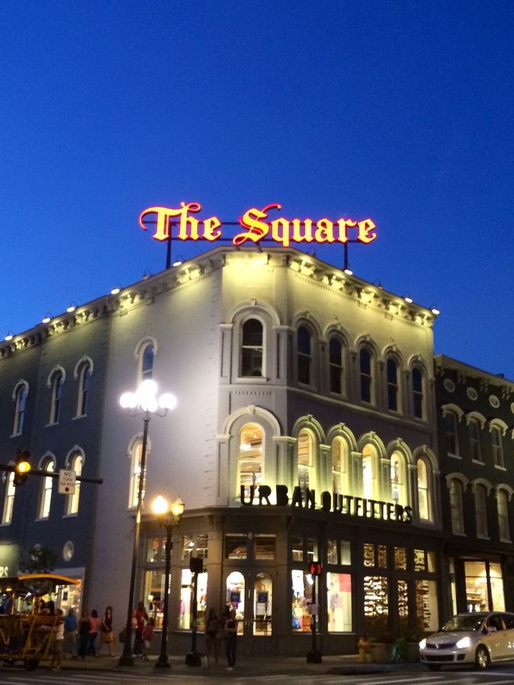 The Square - Downtown Lexington, KY