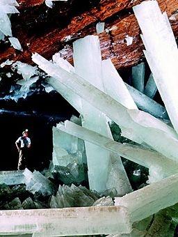 Giant Quartz Crystals