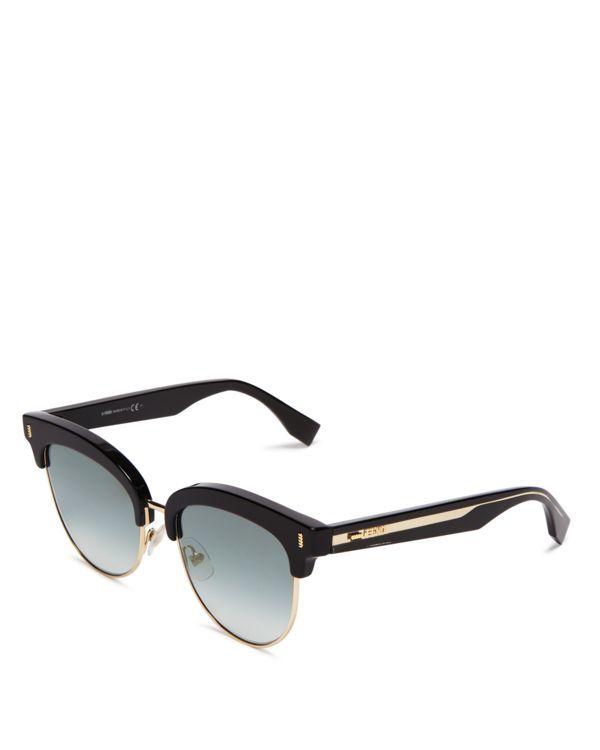 Fendi Wayfarer Sunglasses, 54mm