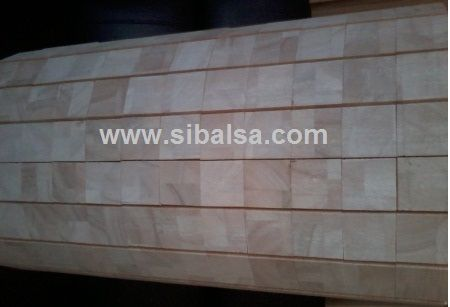 end grain balsa sheet flexible XY