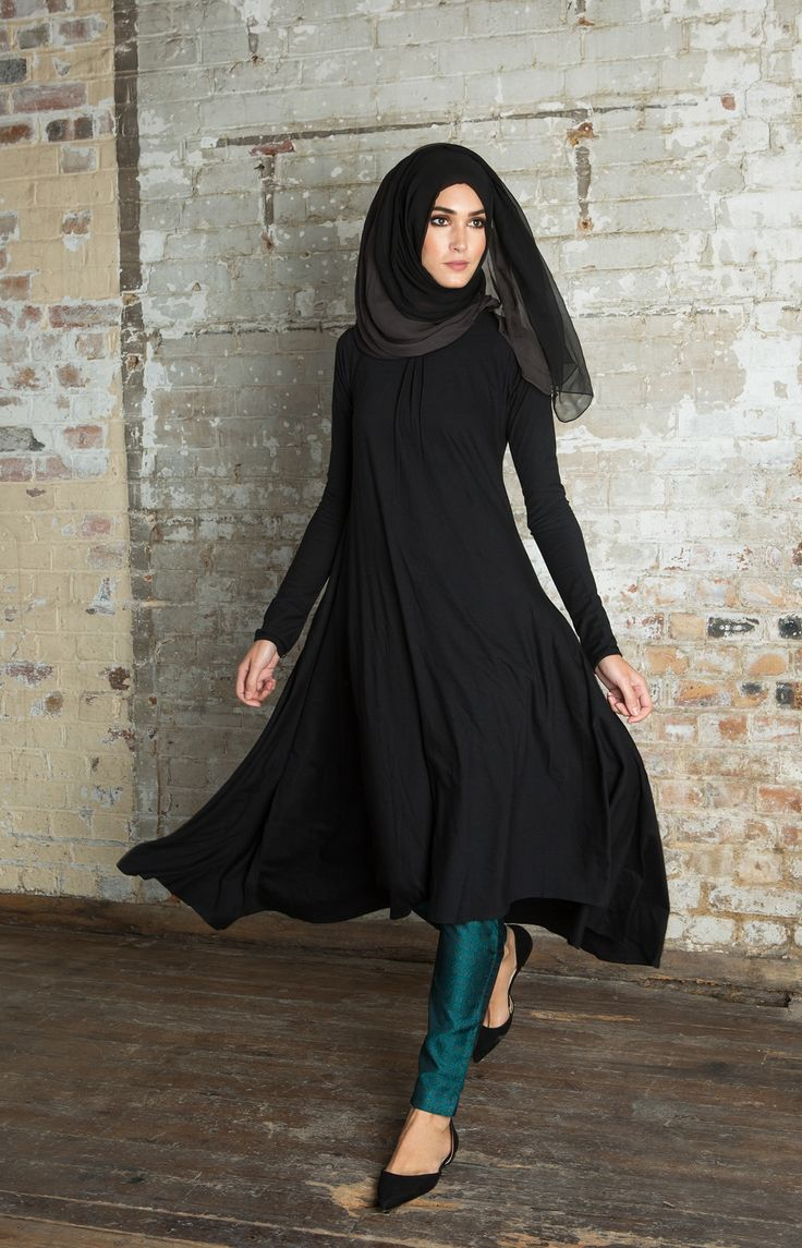 Mulberry Midi Black Aab Islam Pinterest Turquoise Trousers And Hijab Fashion