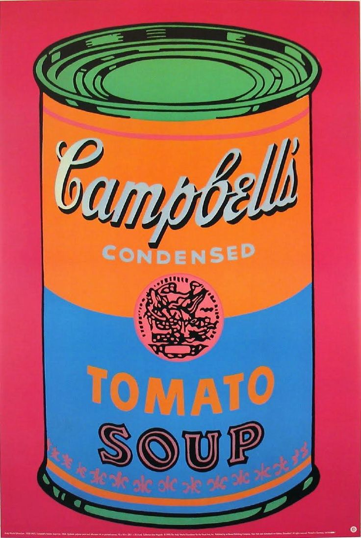 andy warhol soup can 100 cans, 1962 by andy warhol pop art still life albright-knox art gallery, buffalo, ny, us 100 cans, 1962 by andy warhol  big campbell's soup can 1.