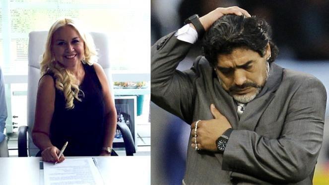 Verónica Ojeda se sacó la foto que Maradona jamás hubiera querido ver | El Trece