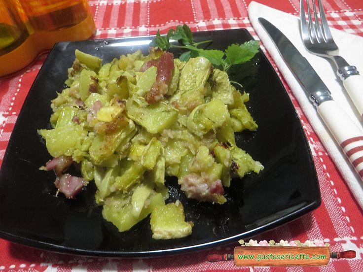 Zucchine trombetta al forno - Gustose ricette di cucina