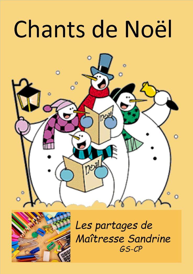 Chants de Noël - Les partages de Maîtresse Sandrine