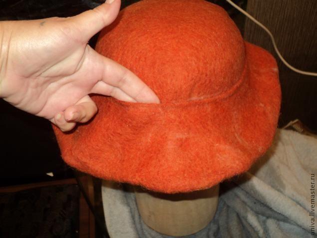 формирование полей шляпы