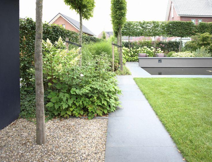 31 beste afbeeldingen van moderne tuinen bbq en lounges - Moderne tuin ingang ...