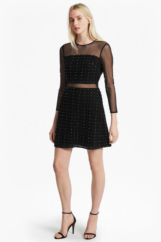 8c1a5fd198e French Connection Tough Diamond Crochet Dress rrp 195 Size Uk 12 LS171 NN  21 #fashion #clothing #shoes #accessories #womensclothing #dresses (ebay  link) # ...
