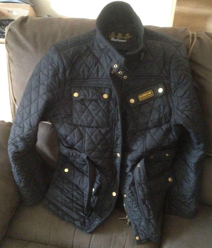 Womans Black 18 Ladies Quality Barbour International Quilted ... : international quilted jacket - Adamdwight.com