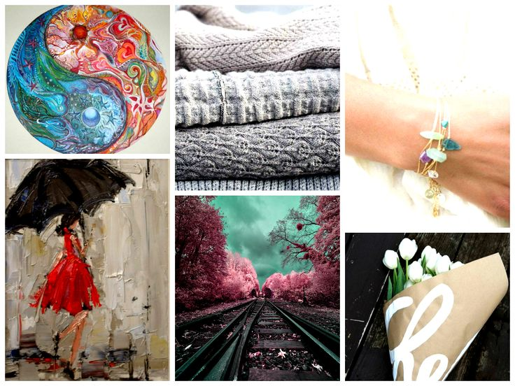 Colors and textures for a rainy day :)