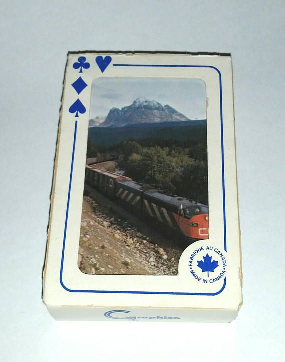 Check out this item in my Etsy shop https://www.etsy.com/ca/listing/554373984/vintage-cn-rail-train-cards-canadian