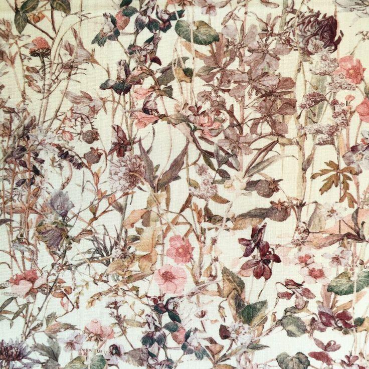 Wild Flower Liberty, rosa creme