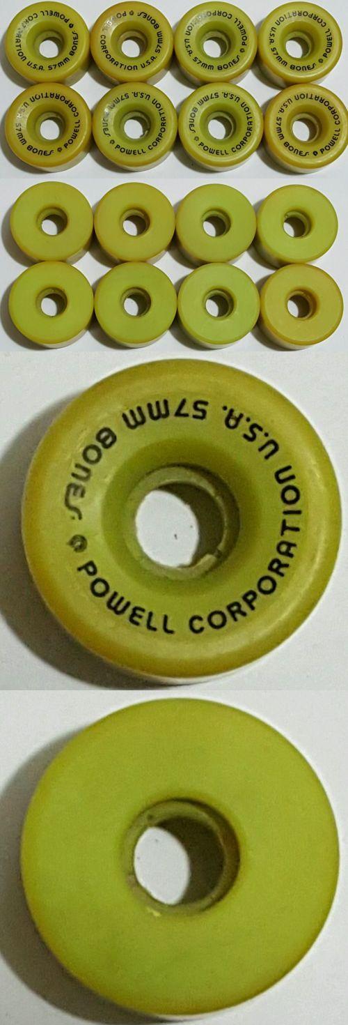 Indoor Roller Skating 165938: Nos Vtg 80 S O S Roller Skate Wheels (8) Powell Peralta Bones 57Mm X 32Mm 97A -> BUY IT NOW ONLY: $88.88 on eBay!