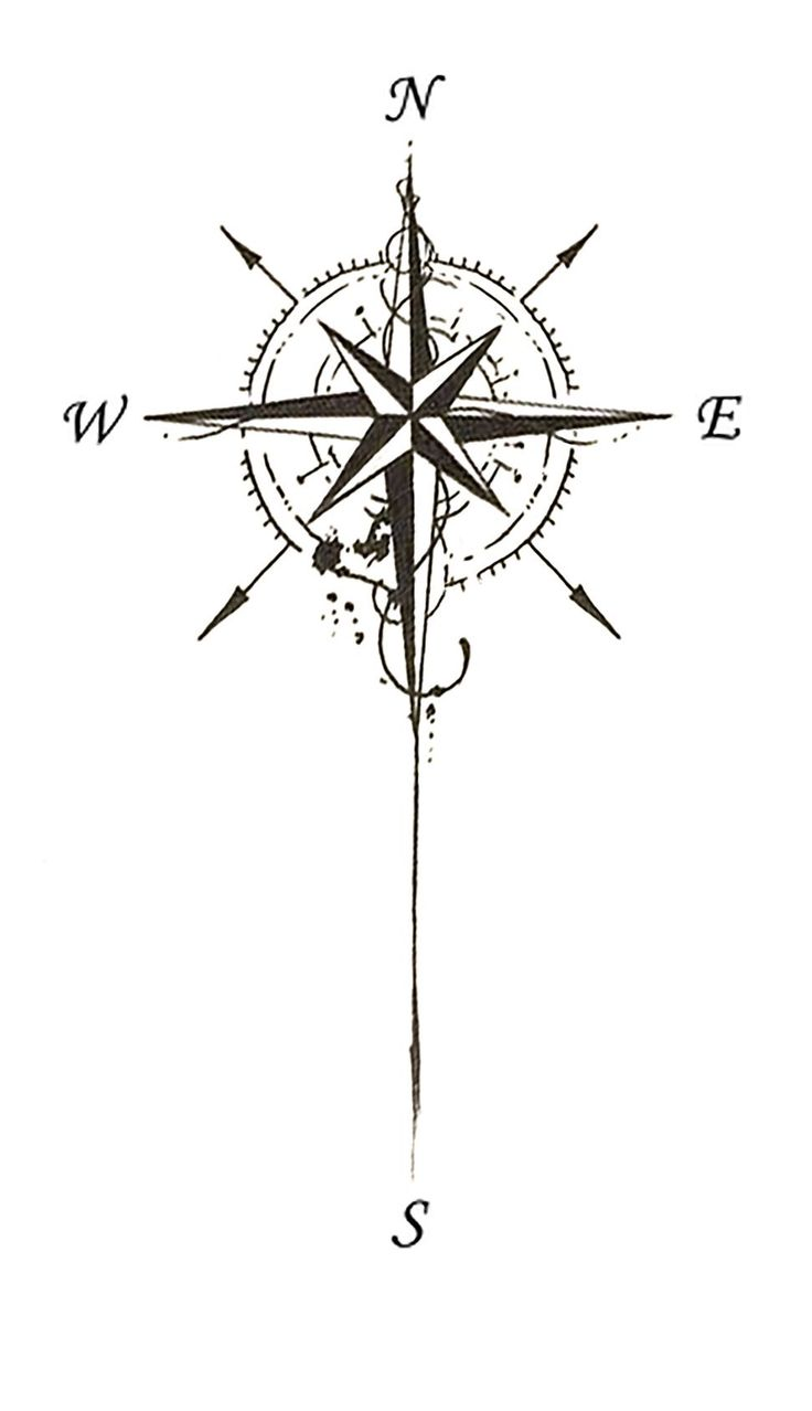 compass tattoo design #compass_tattoo_design #tattoodesign