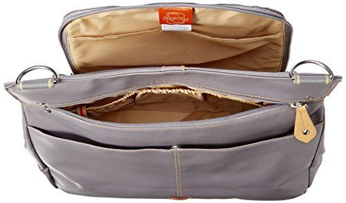 PacaPod Oban Elephant Designer Baby Changing Bag - Luxury Grey Messenger 3 in 1 Organising System With Convertible BackPack Straps: Amazon.co.uk: Baby