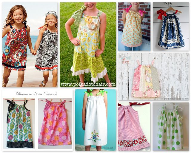 Round-Up: Pillowcase Dresses to Sew