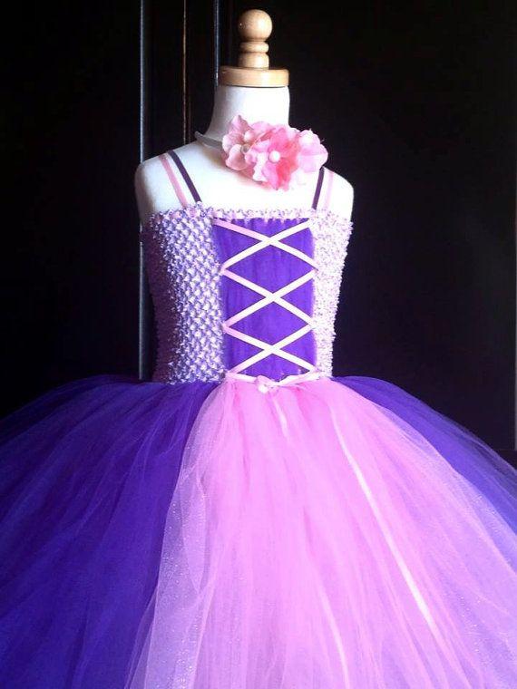 rapunzel tutu dress disney princess dress by