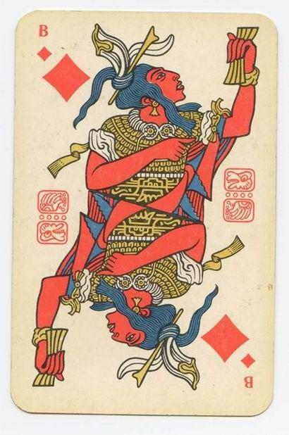 Russian / Mayan playing cards