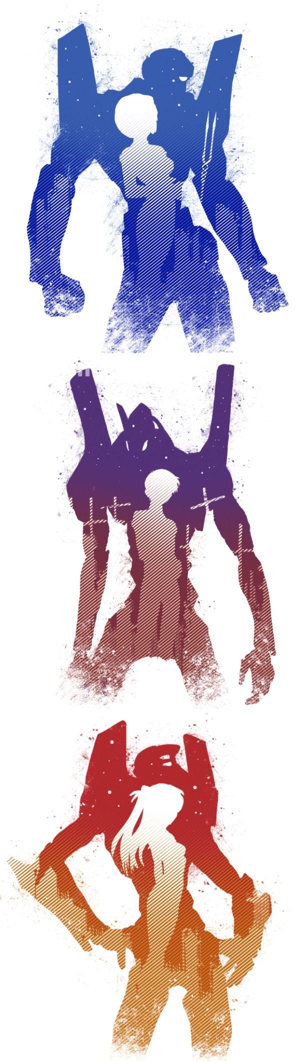 Evangelion Anime EVA 00 EVA 01 EVA 02 - Группы - Галерея - Форум Evangelion Not End