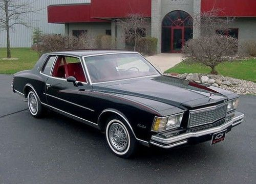 1979 Chevrolet Monte Carlo. My 2nd car.  Mine was color apple green.