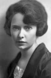 "Margaret Mitchell  Her first and only book was ""Gone With The Wind""  She was genuinely a fine human being, and so sadly died at the age of 49. (She was hit by a car.)"
