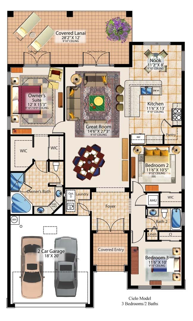 Bingo - the right floor plan for our future home