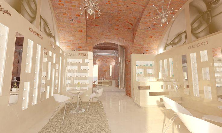 #Eyewear #store #3d #plan #interior #design