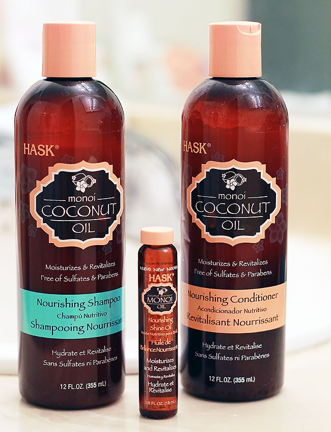 Review: HASK Monoi Coconut Oil Hair Products
