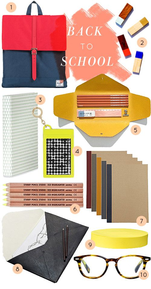 School Supplies For Grown Ups: 10 Stylish Picks For College, Grad School,