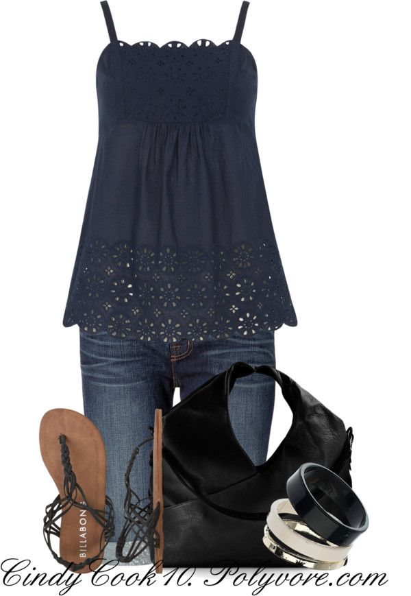 """""""Cami Top"""" by cindycook10 ❤ liked on Polyvore"""