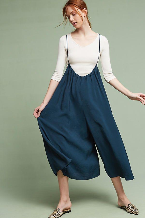 Slide View: 1: Suspender Jumpsuit | Vintage clothes women, Jumpsuit fashion, Minimalist dresses