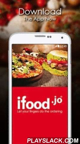Ifood.jo  Android App - playslack.com ,  Ifood.jo is Jordan's biggest free food ordering service for home food delivery. With over 350 restaurants to order from, you're sure to find something to tickle your fancy! From McDonald's, Burger King & KFC to local favourites like Pizza Lover & Al Dayaa and hidden gems like El Pizzaiolo, there's something for everyone!We offer our customers the best discounts from Jordan's best restaurants. To mention a few; Popeyes 40% Off, Burger King…