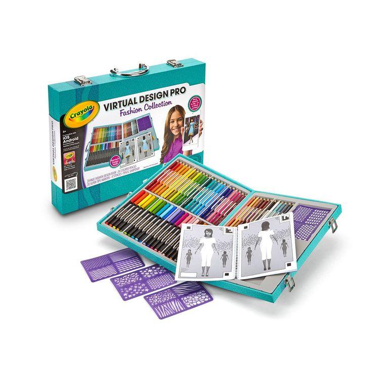 Virtual Design Pro Collection by Crayola, Multicolor