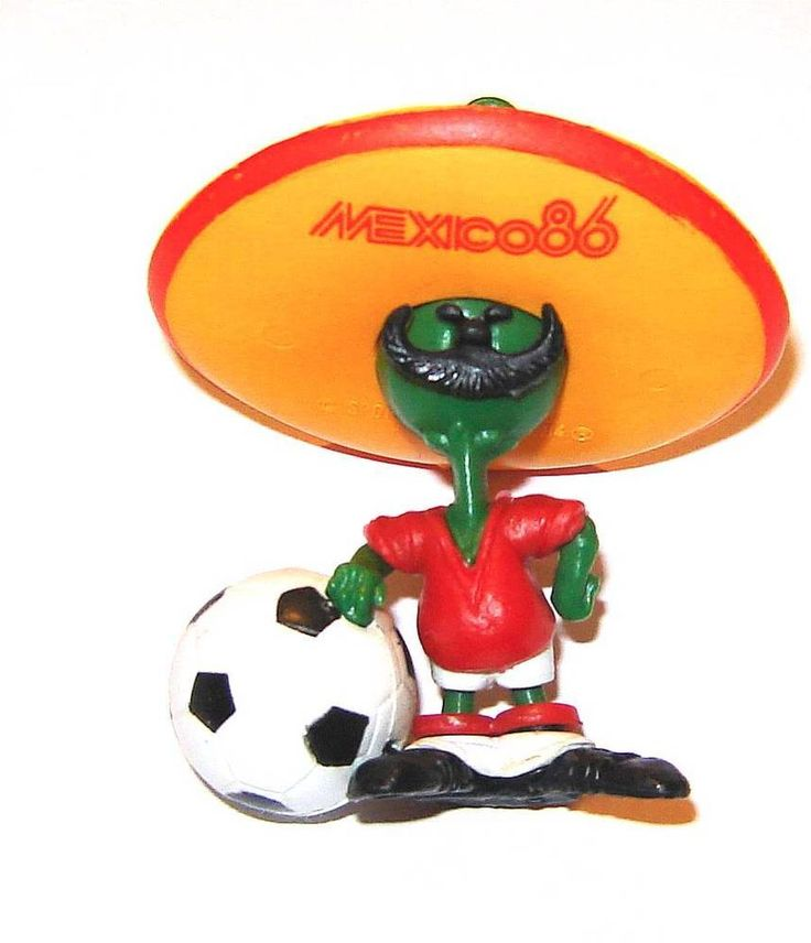 Pique Mexico 1986 World cup soccer football championship Mascot figurine  | eBay