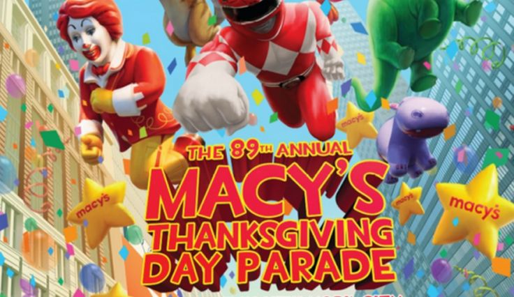 2015 Thanksgiving Day TV Schedule: Macy's Thanksgiving Day Parade, NFL Football, More