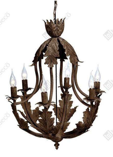 Ten przepiękny żyrandol może stać się rewelacyjną ozdobą Twojego salonu. #lampa #wisząca #dekoracyjna #żyrandol #rustykalny #wystrój #wnętrz