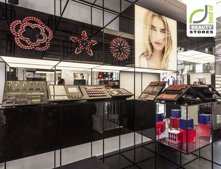 BEAUTY STORES! Chanel Beauty Pop Up Shop, London store design