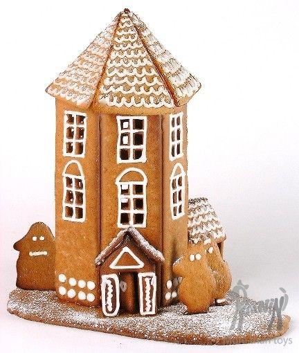 Foremki do wykonania piernikowego domku dla Muminków w Dziecko gotuje Pieczenie i gotowanie foremki do pieczenia Pikinini-More than toys, zabawki ekologiczne, gotowanie z dziećmi, Pippi, Muminki, zabawki, ogrodnictwo, książki