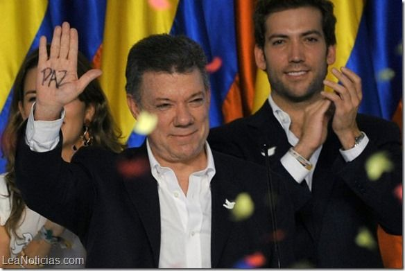 Juan Manuel Santos inicia su segundo mandato en Colombia - http://www.leanoticias.com/2014/08/07/juan-manuel-santos-inicia-su-segundo-mandato-en-colombia/