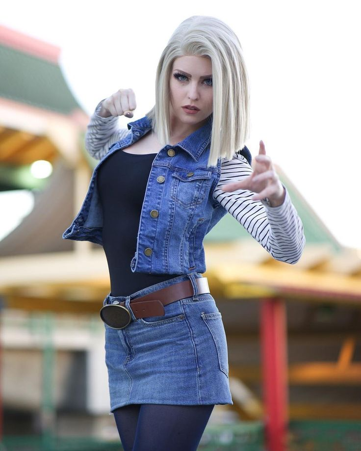 I may look super angry in this pic but I am really excited to announce that I will be attending @cottagecountrycon in Canada!! WHICH CANADIAN FRIENDS AM I GONNA SEEEE?! (: @nels._) #android18 #dragonballz #cosplaygirl