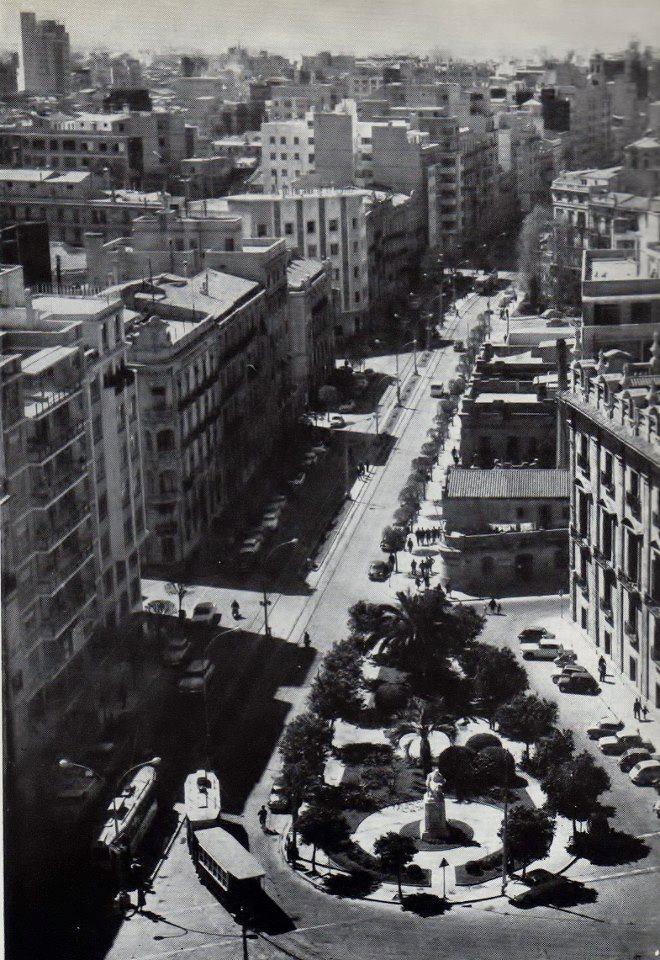 Calle Colón, años 50