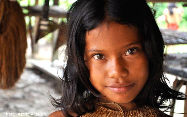 Aguaruna girl - Amazon Peru