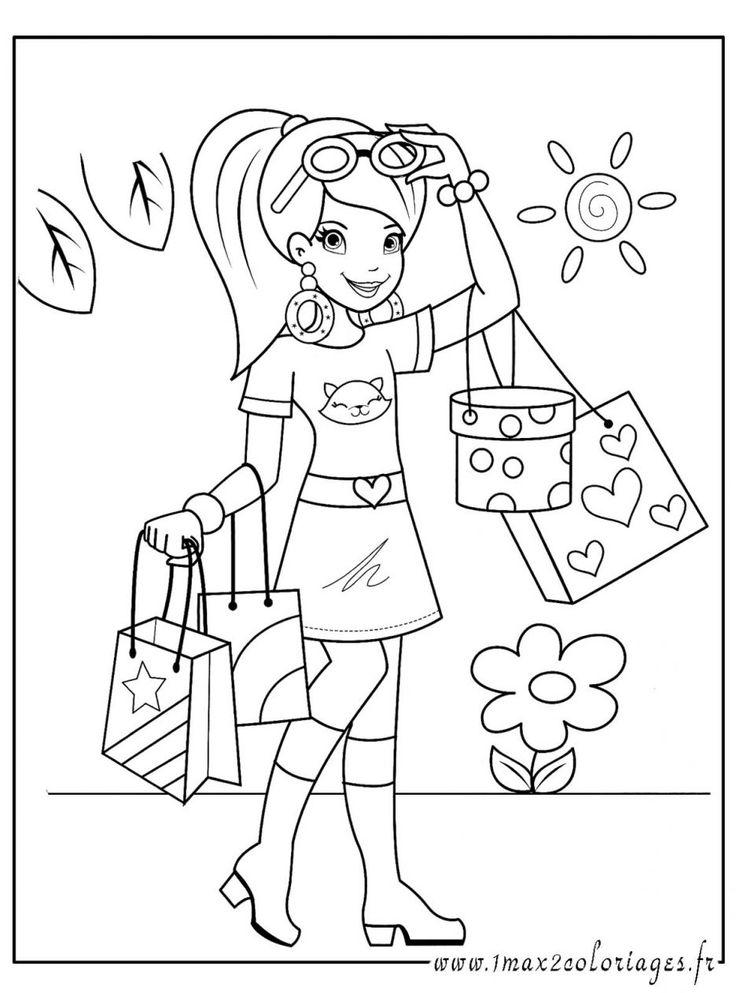 Animaux dessins coloriage fille imprimer trop belle des dessin chat dessindes dessin a imprimer - Dessin de champignons a imprimer ...
