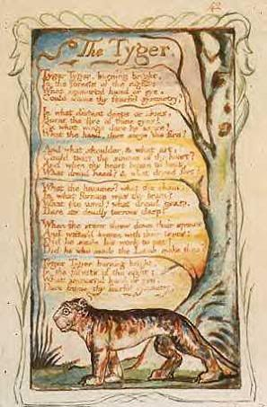 William Blake's visionary illuminations of his own poetry. Read Blake with all your senses open