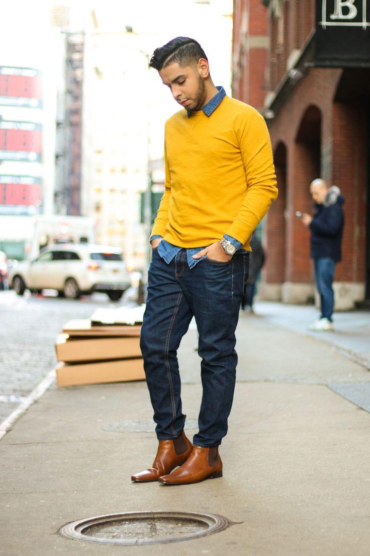 The 25  best Yellow sweater mens ideas on Pinterest | Animal ...