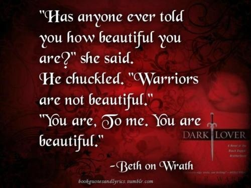Book Quotes and Lyrics: Search results for Black Dagger Brotherhood